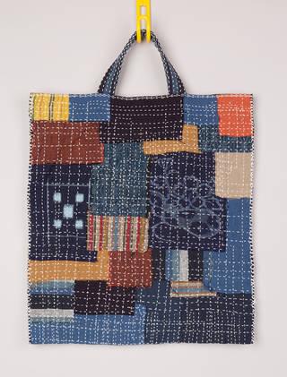 860e9c156e7da V&A · Make your own: Japanese 'Boro' bag