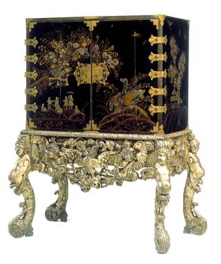Cabinet on stand, about 1688, England. Museum no. W.29-912. © Victoria and Albert Museum, London