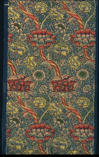 'Wandle', furnishing fabric, William Morris, 1884, England. Museum no. T.425-1934. © Victoria and Albert Museum, London