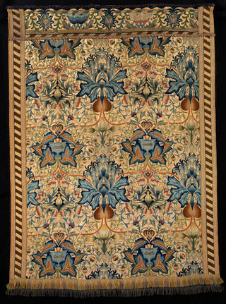 Wall hanging, designed by William Morris, made by Ada Phoebe Godman, 1877, England. Museum no. T.166-1978. © Victoria and Albert Museum, London