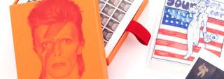 Bowie postcards promo