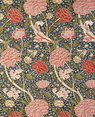 Cray, furnishing fabric, William Morris, 1884, England. Museum no. CIRC.82-1953. © Victoria and Albert Museum, London