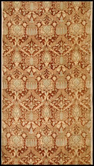 Granada, furnishing fabric, William Morris, 1884, England. Museum no. T.4-1919. © Victoria and Albert Museum, London