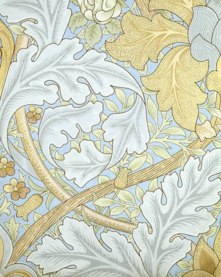St James's wallpaper, designed by William Morris, manufactured by Jeffrey & Co., 1881, England. Museum no. E.528-1919. © Victoria and Albert Museum, London