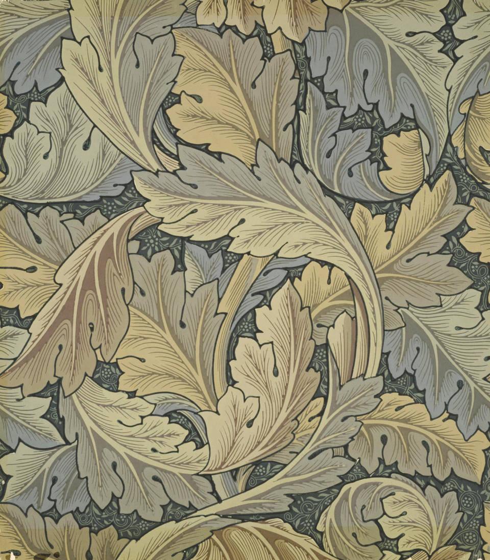 WXQHYD William Morris Lienzo de la l/ámina El Victoria and Albert Museum Exposici/ón de Carteles del Metro de Londres Art Nouveau Pintura decoraci/ón de la Pared Foto Stampata