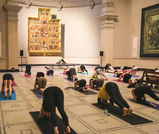 V&A Coffee Morning: Yoga photo