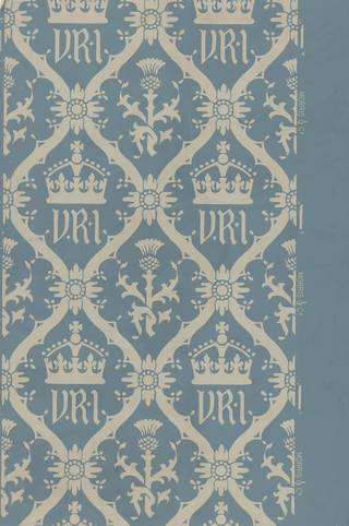 Balmoral wallpaper, designed by William Morris, printed by Arthur Sanderson & Sons Ltd., 1887, England. Museum no. E.528-1919. © Victoria and Albert Museum, London