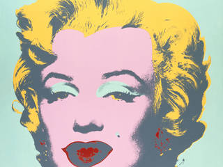 Background image: Marilyn Monroe, screenprint, Andy Warhol, printed by Aetna Silkscreen Products Inc./ Du-Art Displays, published by Factory Additions, 1973, US. Museum no. CIRC.121-1968. © Victoria and Albert Museum, London/The Andy Warhol Foundation for the Visual Arts, Inc./ARS, NY and DACS, London 2001