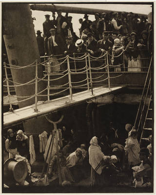 The Steerage, by Alfred Stieglitz, 1907, Europe. Museum no. E.907-2003. Gift of the Georgia O'Keeffe Foundation. © Victoria and Albert Museum, London