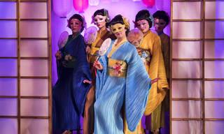 TriOperas performing live in the Opera: Passion, Power & Politics exhibition photo