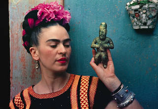 Teacher Twilight, Frida Kahlo: Making Her Self Up photo
