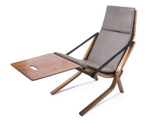 Neptune Chair, lounger designed for P&O, Ernest Race, England, 1960s. © Ernest Race. Image courtesy of Collection, The Target Gallery, London