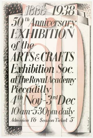 Poster, John Frederick William Charles Farleigh, 1938, England. Museum no. E.598-1980. © Victoria and Albert Museum, London