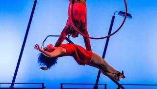 Metta Theatre perform for Friday Late: Circus – Past, Present and Future photo