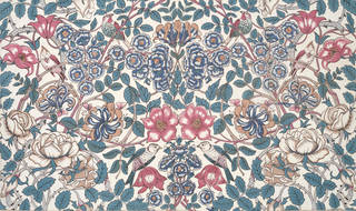 Lowther furnishing fabric, designed by Sidney Mawson, manufactured by Turnbull & Stockdale Ltd., 1909, England. Museum no. CIRC.416-1966. © Victoria and Albert Museum, London