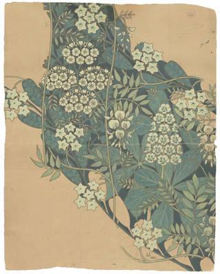Textile design, Allan Francis Vigers, 1901, England. Museum no. E.5514-1960. © Victoria and Albert Museum, London