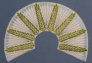 Collar, Mackay Hugh Baillie Scott, about 1903, England. Museum no. T.126-1953. © Victoria and Albert Museum, London