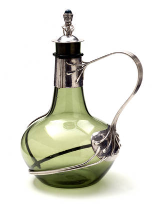 Photo of Decanter, Charles Robert Ashbee, 1904 – 5, England. Museum no. M.121:1, 2-1966. © Victoria and Albert Museum, London