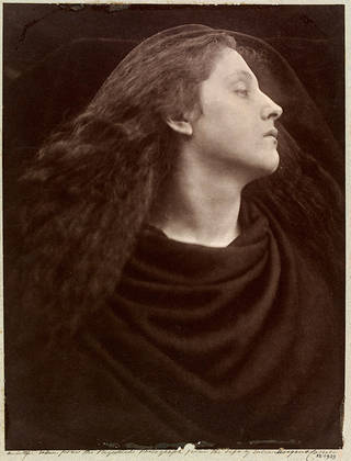 Photo of Call, I Follow, I Follow, Let Me Die!, photograph by Julia Margaret Cameron, 1867, England. Museum no. 15-1939 © Victoria and Albert Museum, London