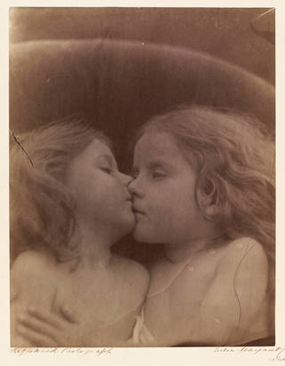 Photo of The Double Star, photograph by Julia Margaret Cameron, 1864, England. Museum no. 45158 @ Victoria and Albert Museum, London