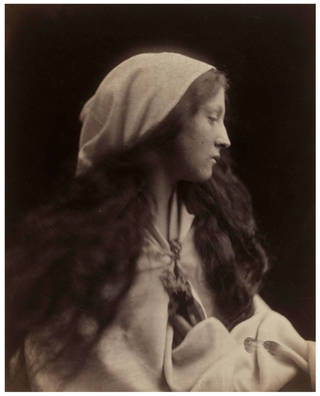 Photo of The Dream, photograph by Julia Margaret Cameron, 1869, England. Museum no. 937-1913. @ Victoria and Albert Museum, London