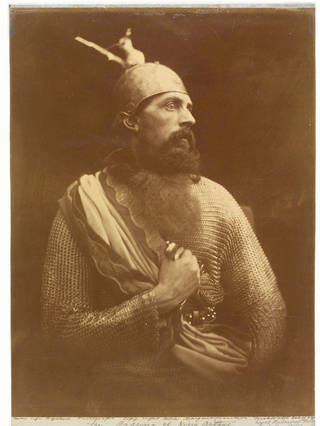 Photo of The Passing of King Arthur, photograph by Julia Margaret Cameron, 1874, England. Museum no. 27-1939. © Victoria and Albert Museum, London