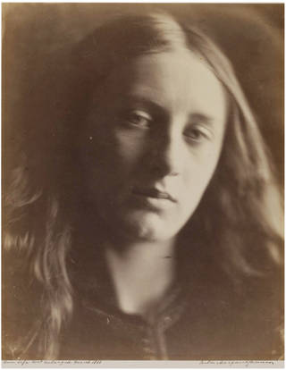 Head of St. John, photograph, by Julia Margaret Cameron, 1866, England. Museum no. 938-1913. © Victoria and Albert Museum, London