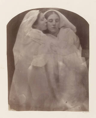 Iolande and Floss, photograph, by Julia Margaret Cameron, about 1864, England. Museum no. 44774. © Victoria and Albert Museum, London