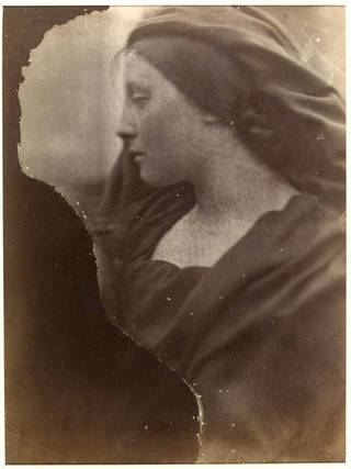 Mary Hillier, photograph, by Julia Margaret Cameron, about 1864 – 65, England. Museum no. PH.346-1981. © Victoria and Albert Museum, London