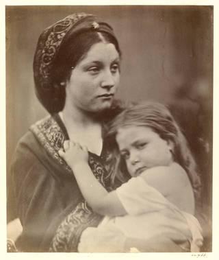 La Madonna della Ricordanza, photograph, by Julia Margaret Cameron, 1864, England. Museum no. 44766. © Victoria and Albert Museum, London
