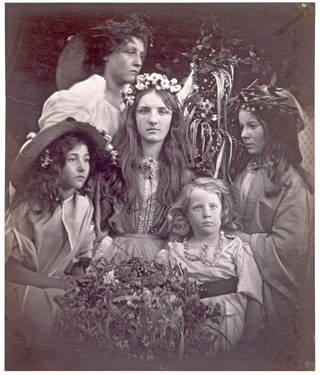 May Day, photograph, by Julia Margaret Cameron, 1866, England. Museum no. 933-1913.  © Victoria and Albert Museum, London