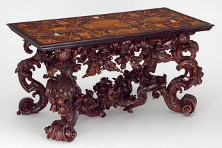 Photo of Pier table, Lucio de Lucci and Andrea Brustolon, 1680–1700, Venice, Italy. Museum no. W.6:1,2-2012. © Victoria and Albert Museum, London
