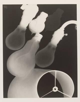La Maison, photogravure by Man Ray, published by Compagnie Parisienne de Distribution de l'Eléctricité, 1931, France. Museum no. E.1650-2001. © Victoria and Albert Museum, London