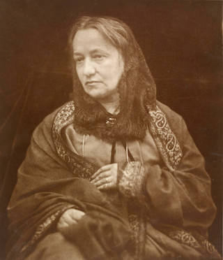 Julia Margaret Cameron, photograph, by Henry Herschel Hay Cameron, about 1870. Museum no. E.1217-2000. © Victoria and Albert Museum, London