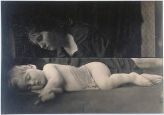 My Grand Child Archie Son of Eugene Cameron R.A. aged 2 years & 3 months, photograph, by Julia Margaret Cameron, 1865, England. Museum no. 45159. © Victoria and Albert Museum, London