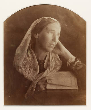 Marianne North, photograph, by Julia Margaret Cameron, 1877, Ceylon. Museum no. PH.256-1982. © Victoria and Albert Museum, London