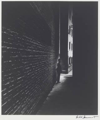 Policeman in a Dockland Alley, Bermondsey, photograph by Bill Brandt, 1938. © Bill Brandt Archive Ltd.