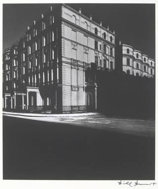 Bayswater Houses Lit by Moonlight, photograph by Bill Brandt, 1942. © Bill Brandt Archive Ltd.