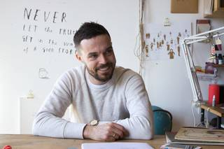 Oliver Jeffers: Here We Are photo