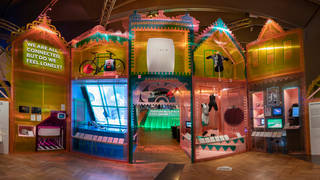V&A · About The Future Starts Here exhibition