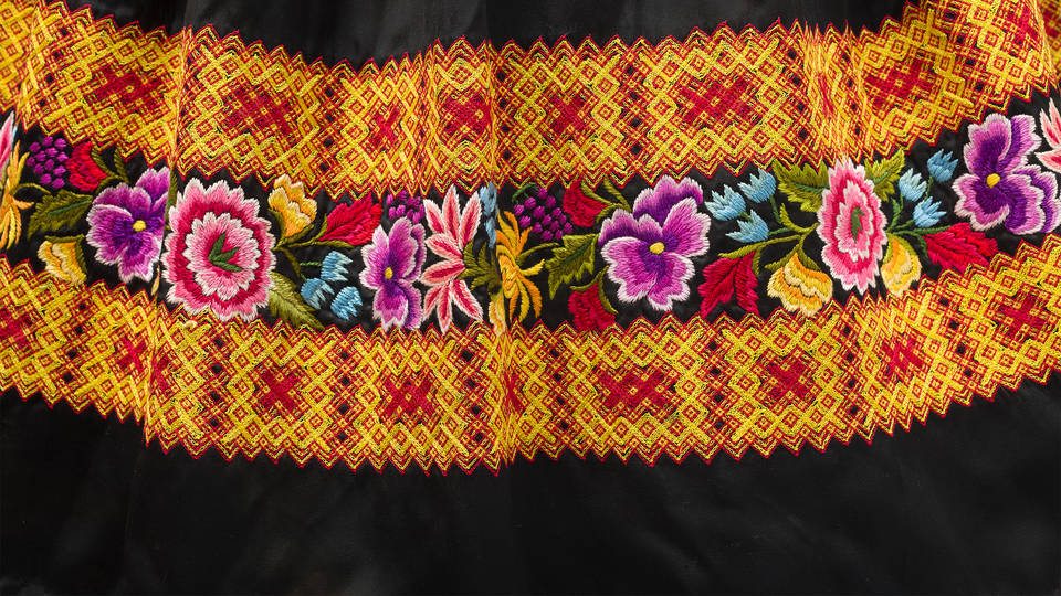 6ca2206aa V&A · Traditional Mexican dress