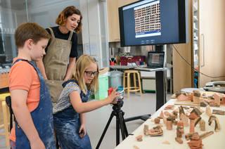 Make-it: Clay SEND workshop photo