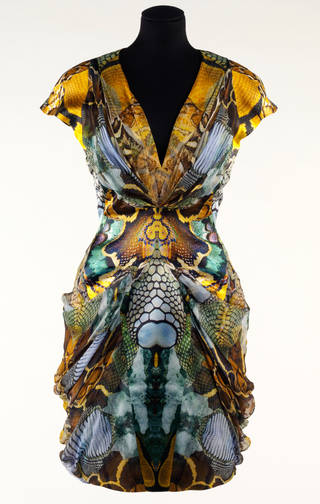 Plato's Atlantis, dress, Alexander McQueen, 2010, Britain. Museum no. T.11-2010. © Victoria and Albert Museum, London