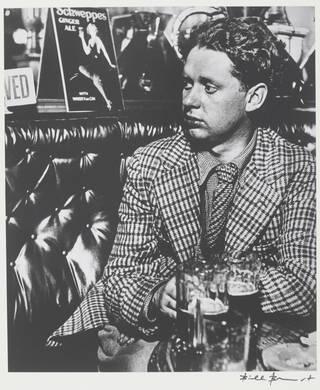 Dylan Thomas, photograph by Bill Brandt, 1941. © Bill Brandt Archive Ltd.
