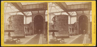 Stereoscopic photographs of the North Court by J. Davis Burton, 1868, England. Museum no. 60742. © Victoria and Albert Museum, London