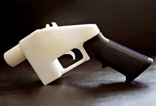 The Liberator, 3D printed hand gun, Cody Wilson/Defense Distributed, May 2013, Texas, US. © Victoria and Albert Museum, London