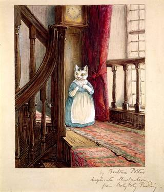 V A Chippendale In The Drawing Room Beatrix Potter S