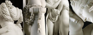 The Three Graces (details), sculpture, Antonio Canova, 1814 – 17, Italy. Museum no. A.4-1994. © Victoria and Albert Museum, London