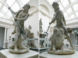 Neptune and Triton, sculpture, Gian Lorenzo Bernini, 1622 – 23, Italy. Museum no. A.18:1-1950. © Victoria and Albert Museum, London