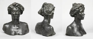 Bust of Miss Eve Fairfax, Auguste Rodin, about 1904 – 1905, France. Museum no. A.44-1914. © Victoria and Albert Museum, London